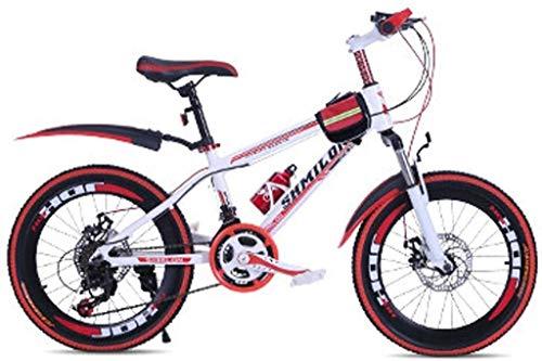 Fahrräder Jungen-Mädchen-Fahrrad-Schüler-Straßen-Fahrrad Erwachsener Verkehrsmittel Fahrrad Outdoor Sport Bike 20 Zoll / 22 Zoll Variable Speed Bike Frühling, Sommer, Bergsteigen Fahrrad lalay
