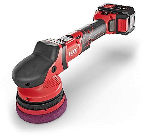 The Clean Garage Flex XCE 8 125 18.0-EC/5.0 | Cordless Forced Rotation Polisher Kit | 2 Batteries