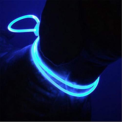 LED Leuchthalsband Für Hunde LED Hundehalsband Stück Hundehalsband Leuchtend Und Längenverstellbareres Haustier Sicherheit Kragen Für Hunde Und Katzen