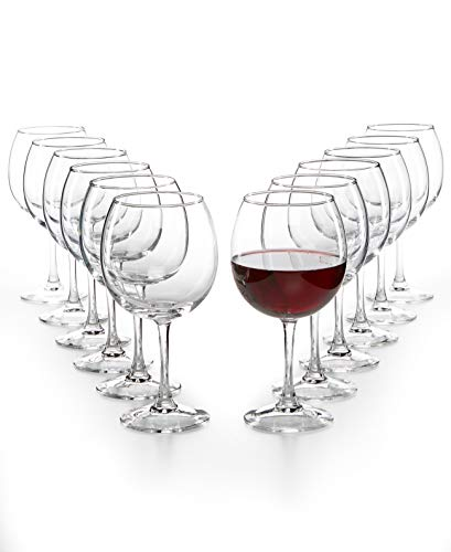 The Cellar Glassware Basics Red Wine Set (Red Wine, 12 – Piece)