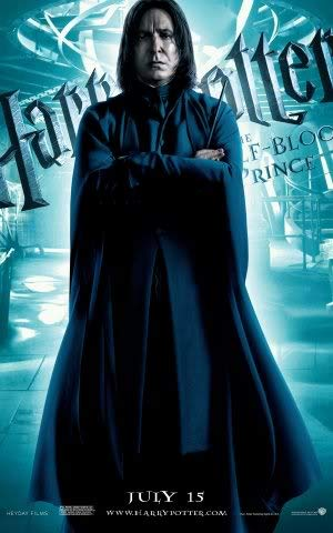 Harry Potter and The Half Blood Prince – Movie Wall Poster Print – A4 Size Plakat Größe Severus Snape