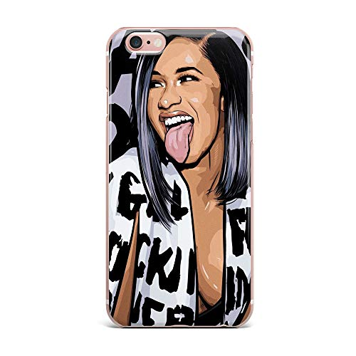 iPhone 6s Case, iPhone 6 Case, Aertemisi Clear TPU Soft Slim Flexible Silicone Cover Phone Case for Apple iPhone 6s / iPhone 6 (4.7'') - Cardi B