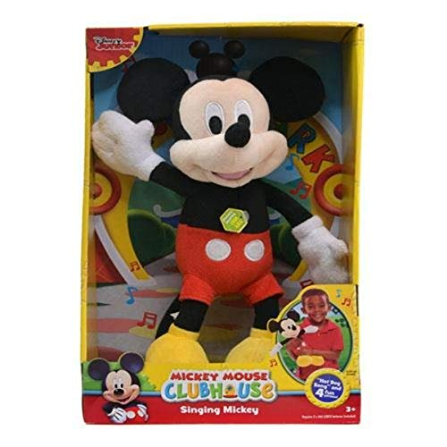 "Disney Mickey 'Hot Dog Song"" 12"" Singing Plush Toy"