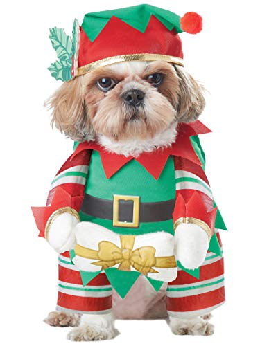 California Costumes Collections Elf Pup Dog Costume, Large