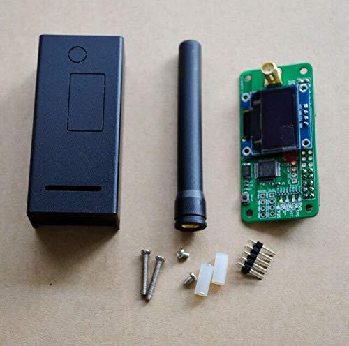 Raspberry Pi Zero ESjasnyfall Duplex MMDVM Hotspot Support P25 DMR YSF OLED Negro Exclouse Case 2pcs Antenna Negro