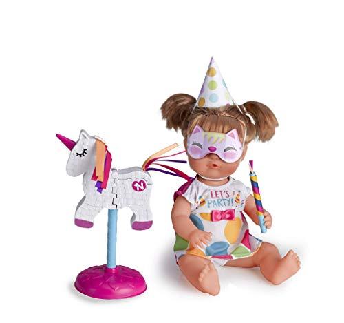 Nenuco de Famosa Piñata, muñeca bebé Fiesta de cumpleaños, para niñas y niños a Partir de 3 años (Famosa 700014770)