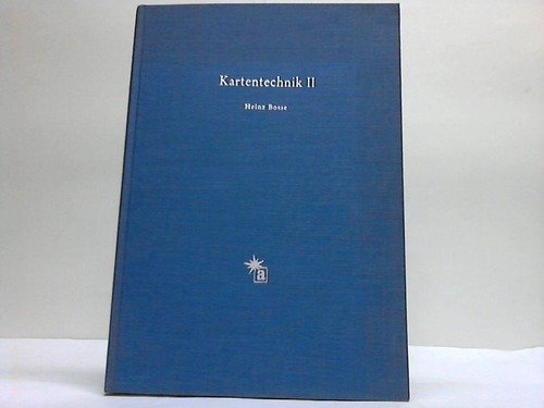 Kartentechnik II. Verfielfältigungsverfahren