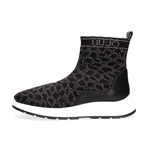 LIU JO B69013 TX022 ASIA08 Zapatillas DE Deporte Mujer Nero 38