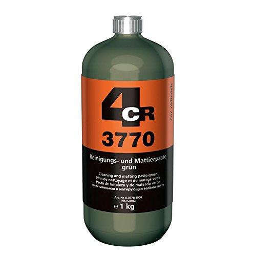 Reinigungspaste grün I Mattierpaste I 4CR I 1 kg I Schleifpaste für Beilackierung