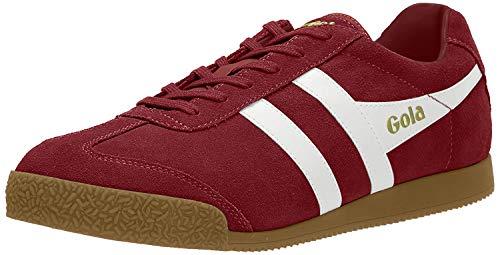 Gola Herren Cma192 Sneaker, Rot (DEEP RED/White RJ), 43 EU
