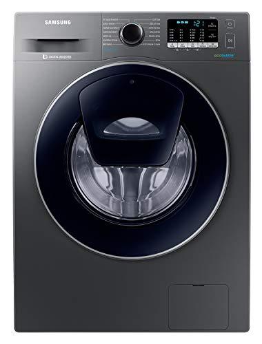 Samsung 8.0 Kg Inverter 5 star Fully-Automatic Front Loading Washing Machine (WW80K54E0UX/TL, Inox, Hygiene steam)
