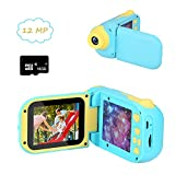 Cocopa Kids Camera Digital Camera for Girls Rechargeable 1080P 12MP Toy Camera...