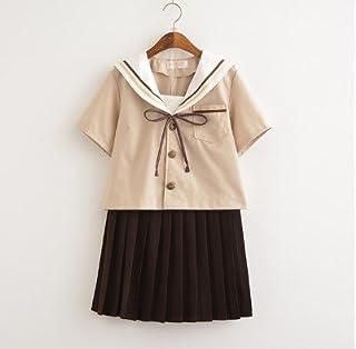 (SUNLIKE)セーラー服コスプレ⑤Mサイズ ブラウン系 萌え可愛タイプ