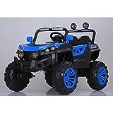 ATAA Buggy Rodeo 4x4 - Azul - Coche eléctrico para niños con tracción a Las 4 Ruedas, Mando Remoto, App móvil y Dos Asientos.