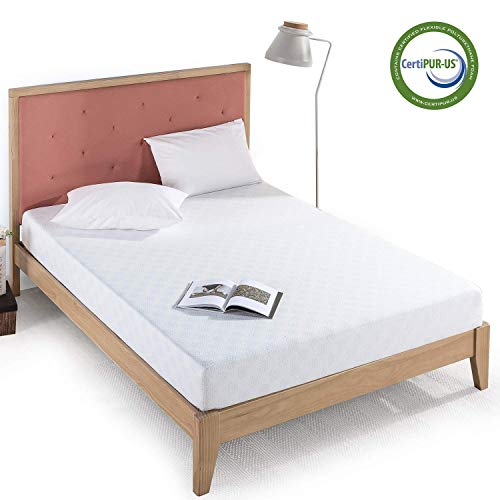Zinus 8 Inch Gel-Infused Green Tea Memory Foam Mattress /
