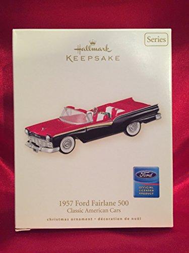 Price comparison product image Hallmark Keepsake Ornament 57Ford Fairlane 500 17th in Series 2007