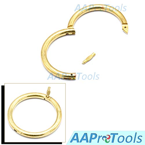 AAProTools Brass Bull Cow Cattle Nose Ring 2.5