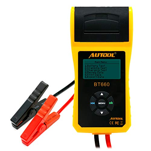 Why Should You Buy Autool BT660 Battery Conductance Tester 12V/24V BT-660 Auto Battery Testers Autom...