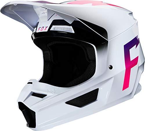 Fox Motocross-Helm V1 Weiß Gr. L