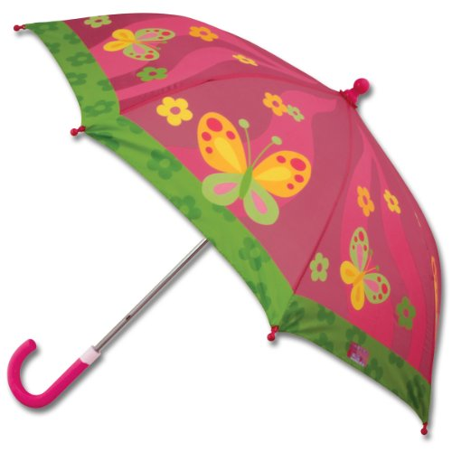 Stephen Joseph girls Little Girls' stick umbrellas, Butterfly, AUTOSUGGEST US