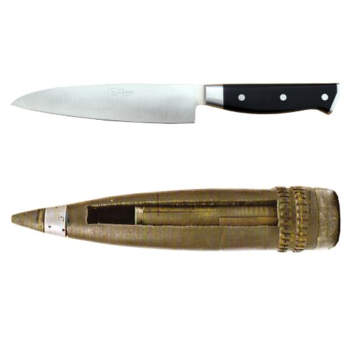 Maestro Wu D-16 kleines Allzweckmesser 16 cm