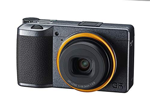 Ricoh GR III Street Edition Metallic Gray APS-C Size Digital Camera with Large CMOS Sensor GR Lens that Achieves High Resolution and High Contrast Equipped with 4-step Image Stabilization High-speed h