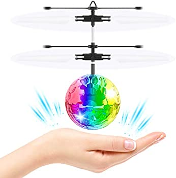 ATOPDREAM RC Flying Rechargeable Light Up Ball