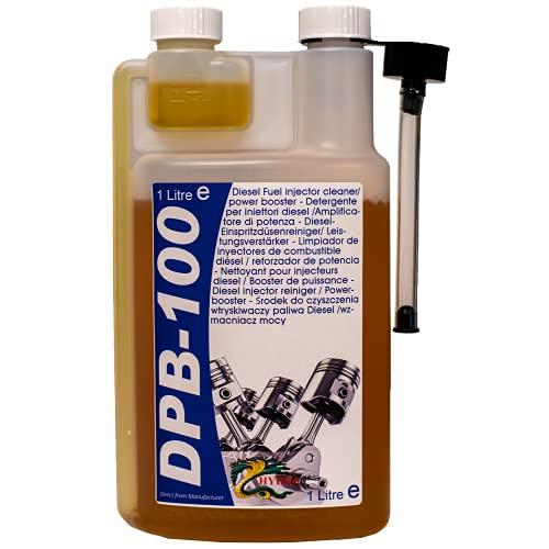 HYDRA DPB-100 Diesel Power Blast per la Pulizia degli iniettori Diesel per Un iniettore Diesel più Pulito Adatto a Tutti i Tipi di Motore Diesel additivo Ideale per la Pulizia del Diesel, 1 Litro