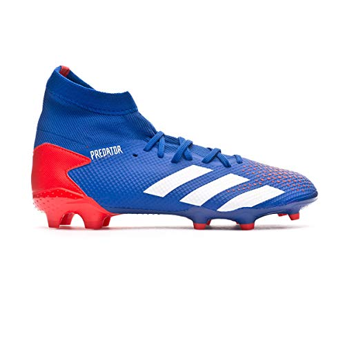 adidas Predator 20.3 FG, Bota de fútbol, Team Royal Blue-White-Active Red