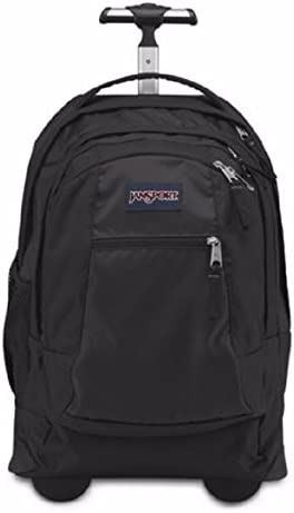 JanSport Driver 8 Core Series Wheeled Backpack All Black product image