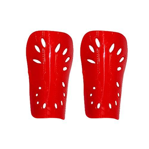 Voetbal legging board insert poreus PP + EVA volwassen en kinderen code kick ball guard plaat insert (kind rood)