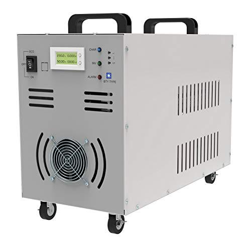 Solinba 7000w/Gipfel 21000w DC24v zu AC230v 50Hz Spannungswandler Reine Sinuswelle Off Grid Auto Generator Wechselrichter Dual-LCD-Anzeige