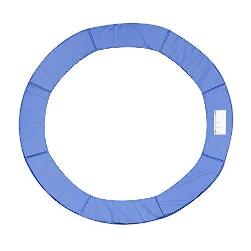 homcom Copertura Bordo di Protezione per Trampolino Elastico Giardino in PVC (Ø244cm)