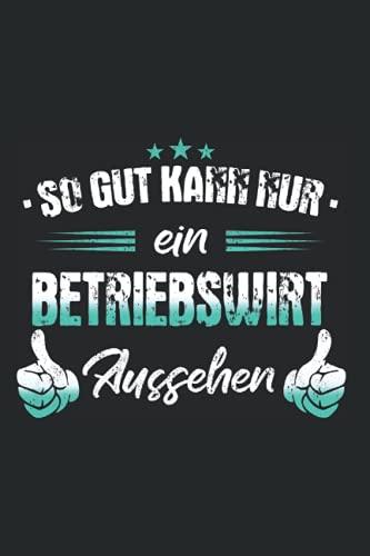 Betriebswirt Notizbuch: 120 Seiten Kariert - Betriebswirt Kaufmann BWL Beruf Arbeit Spruch