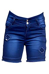 Elendra Girls Casual Stretchable Shorts