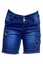 Elendra Girls Casual Stretchable Shorts