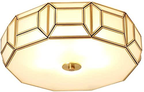 Luces de techo Dormitorio Sala de estar Iluminación Europea Creativa Luz del techo, Retro Geométrico LED Luces de techo Luces de techo Helada Homenaje Casa Sala de estar Estudio Dormitorio Decoración