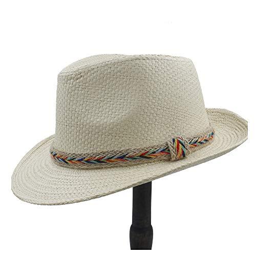 Ocio, hecho a mano, moda Sombrero de rafia para mujer Sombrero de...