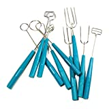 Hemoton 10pcs Chocolate Dipping Fork Set Candy Melts Candy Decorating Fondue DIY Decorating Tool Set...