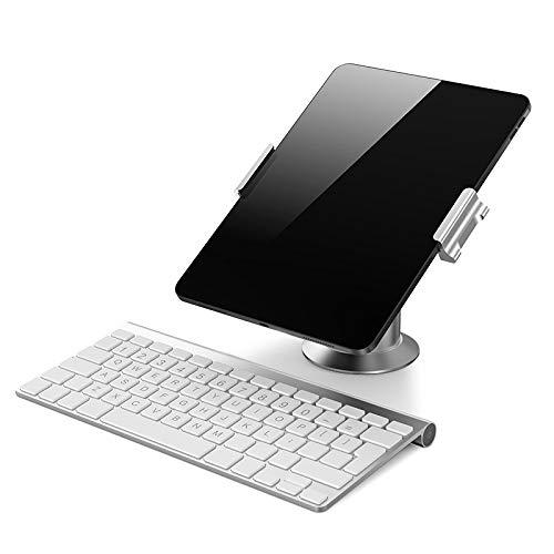 DolDer Tablet Ständer, Verstellbar Aluminium Pad Halterung, 360° Drehen Faltbar...
