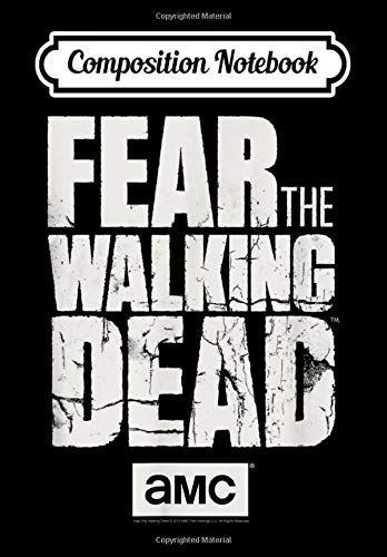 Composition Notebook: Fear The Walking Dead, Journal 6 x 9, 100 Page Blank Lined Paperback Journal/Notebook