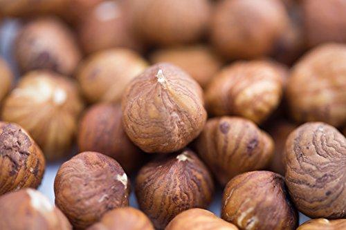 1 kg natürliche Haselnüsse | natur & unbehandelt | Runde Römer | unbehandelt