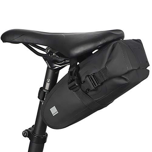 SIVENKE Fahrrad Tasche Wasserdicht Satteltasche Handy Tasche Fahrradtaschen Radtasche Fahrradsitz Tasche für Mountain Bike Rennrad