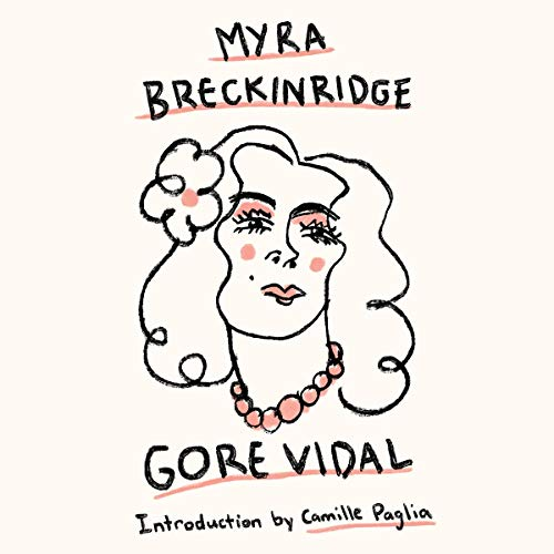 Myra Breckinridge audiobook cover art