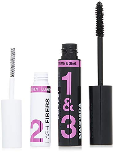 wet n wild Lash-O-Matic Mascara Fiber Extension Kit - Very Black