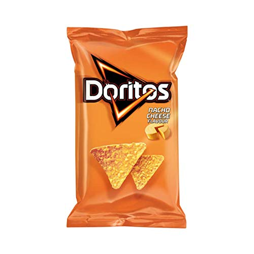 Doritos Nacho Cheese Crisps | Doritos | Nacho Cheese Tortilla Chips | Peso total 185 gramos