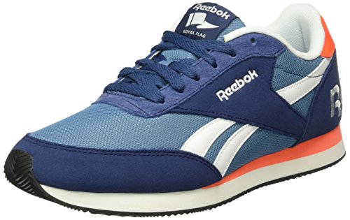 Reebok Unisex-Erwachsene Royal Classic Jogger 2RS Low-Top, Blau (Blue Ink/Slate/Atomic Red/White/Black), 40 EU