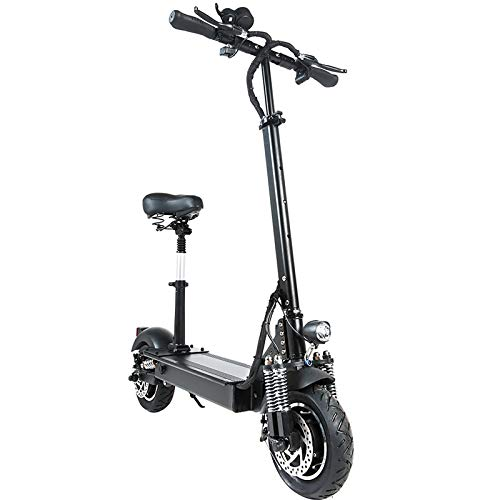 AAADRESSES Scooter Eléctrico Plegable Adultos, Patinetes Eléctricos Rápidos de 1000 W, Batería...