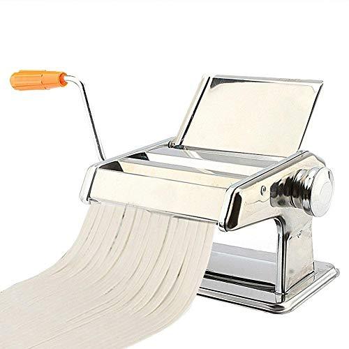 Máquina para Hacer Pasta Hecha a Mano de Acero Inoxidable Herramienta de Mano para Hacer Lasaña Tallarines Espaguetis Fideos