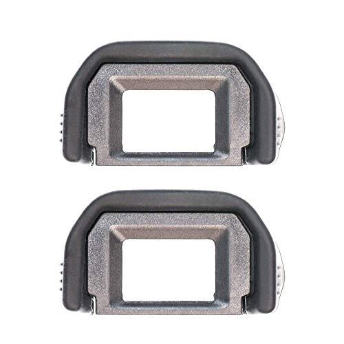 CamRebel EOS Kiss X6i X7i X7 X9i X9 X8i X8対応ブラックCanon Ef 交換用カメラファインダーアイカップ (EC-EF2)